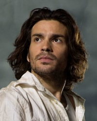 HEROES -- NBC Series -- Pilot -- Pictured: Santiago Cabrera as Isaac Mendez -- NBC Photo: Mitch Haaseth